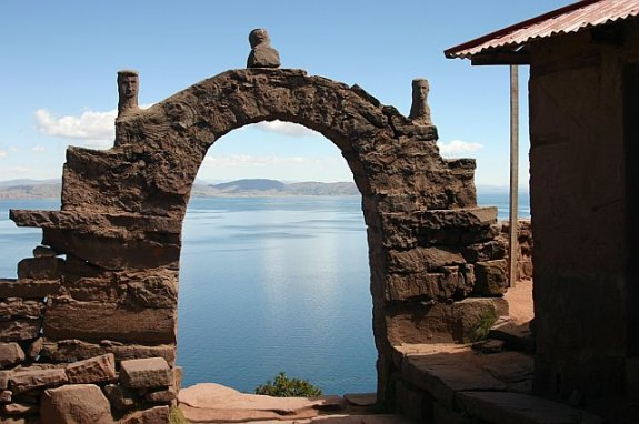 Lake Titicaca Gate