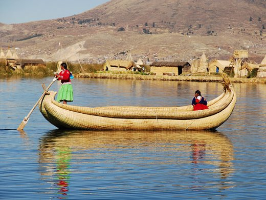 Titicaca Reed Raft