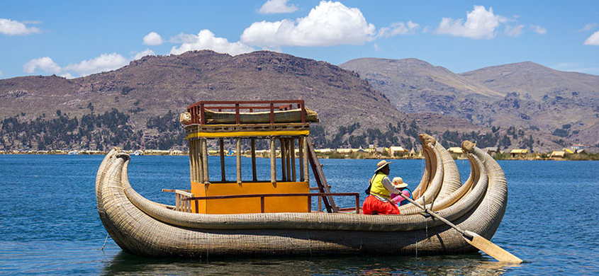 Reed Islands Titicaca