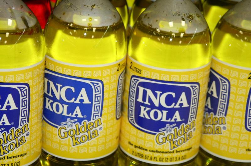 inca kola - Peruvian drinks