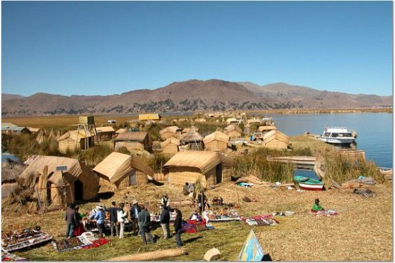 Lake Titicaca Reed Islands