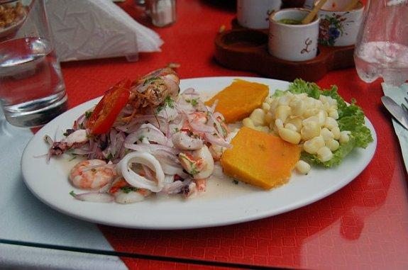 Ceviche Peruvian Food