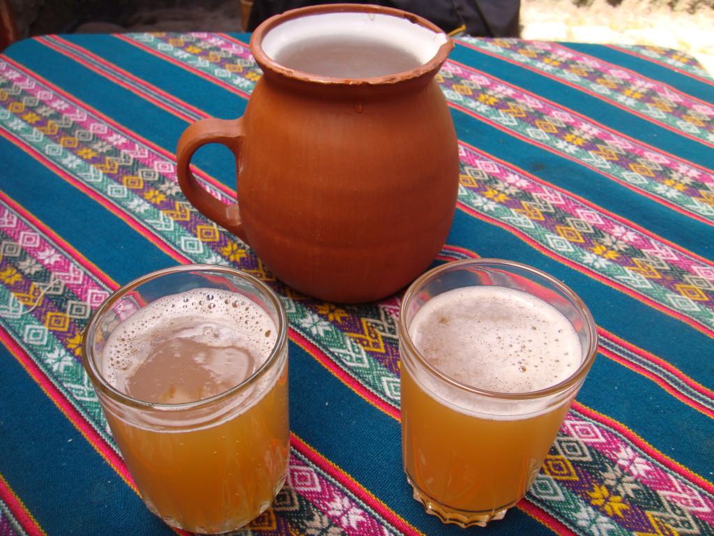 chicha de jora - Peruvian drinks