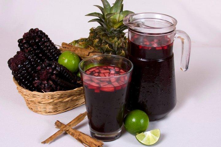 chicha morada - Peruvian drinks