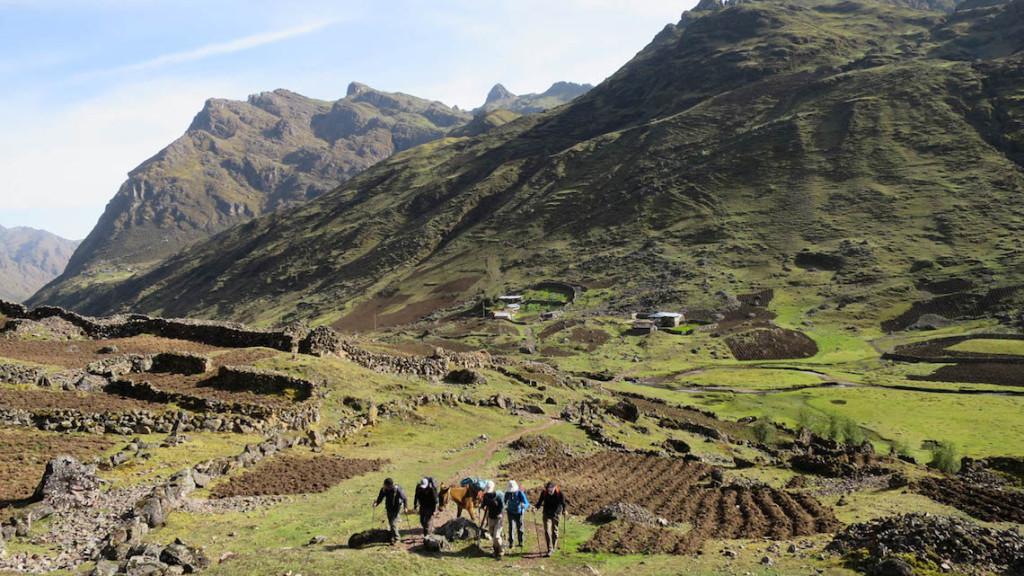 Chancachaca valley peru