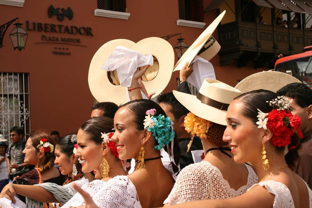 The Trujillo Marinera Festival, one of our favorite Peruvian festivals, is held annually in January.