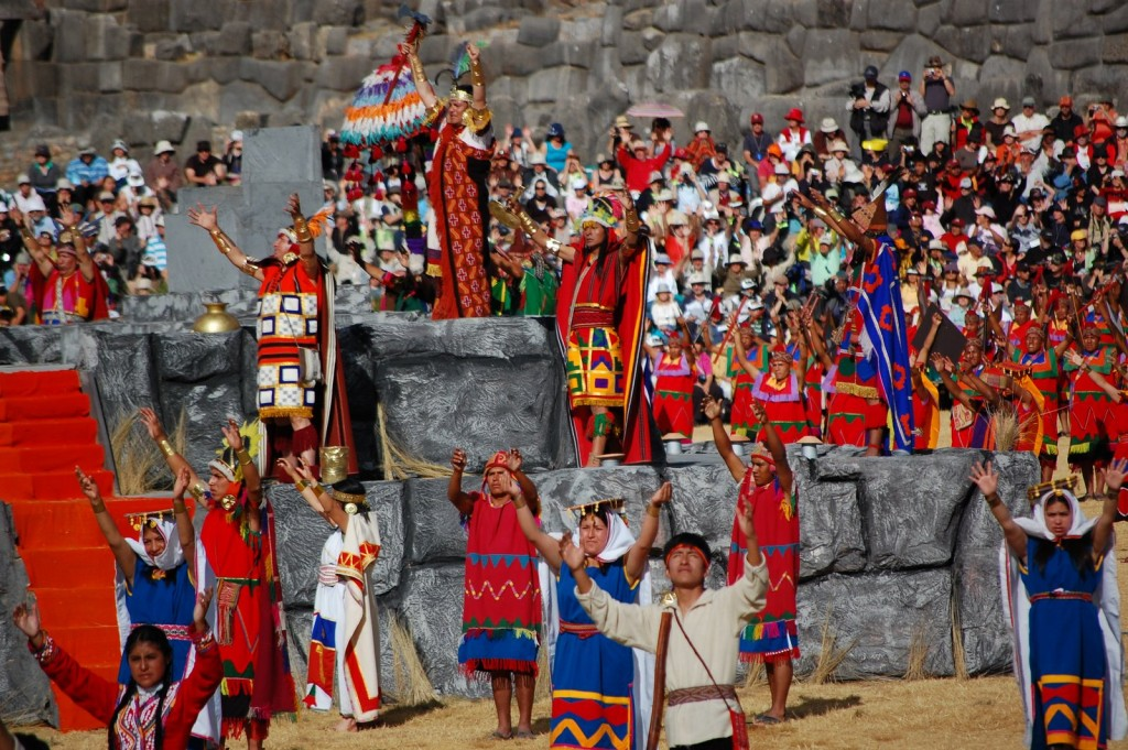 Inti Raymi, the Festival of the Sun, is one of the most traditional Peruvian festivals.