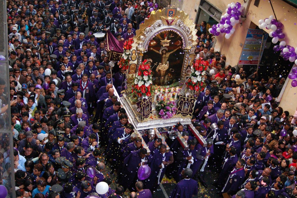 The main Catholic celebration is one of the largest Peruvian festivals.